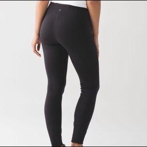LULULEMON Wander Pant Black Office Yoga Pants 6